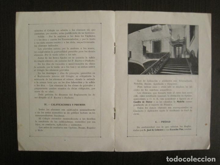 Catálogos publicitarios: CATALOGO PUBLICIDAD-BARCELONA-COLEGIO CALASANCIO DE LAS ESCUELAS PIAS-VER FOTOS-(V-19.384) - Foto 5 - 196803517