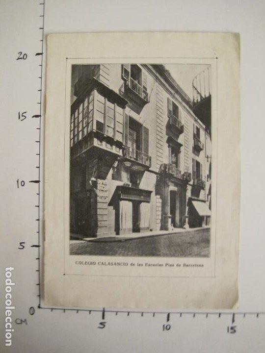 Catálogos publicitarios: CATALOGO PUBLICIDAD-BARCELONA-COLEGIO CALASANCIO DE LAS ESCUELAS PIAS-VER FOTOS-(V-19.384) - Foto 9 - 196803517