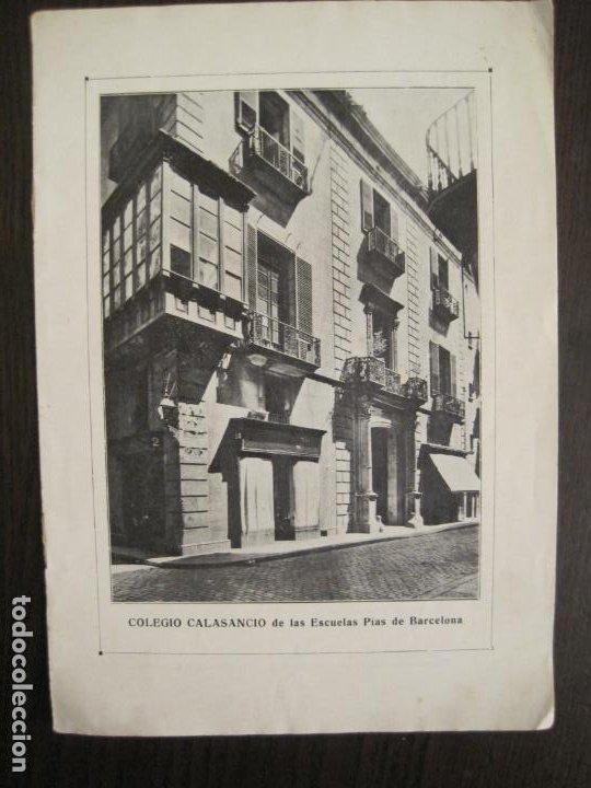 CATALOGO PUBLICIDAD-BARCELONA-COLEGIO CALASANCIO DE LAS ESCUELAS PIAS-VER FOTOS-(V-19.384) (Coleccionismo - Catálogos Publicitarios)