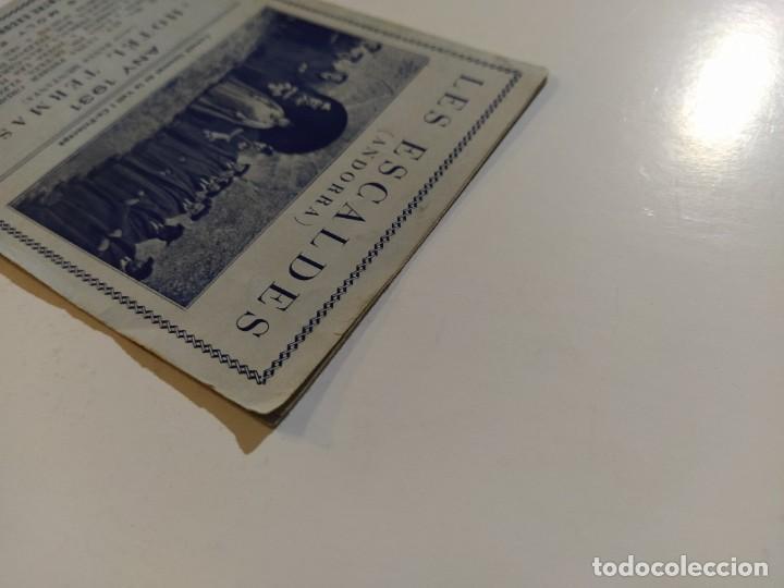 Catálogos publicitarios: ANDORRA-LES ESCALDES-HOTEL TERMAS-AÑO 1931-CATALOGO PUBLICIDAD CON FOTOGRAFIAS-VER FOTOS-(V-19.403) - Foto 5 - 196806328
