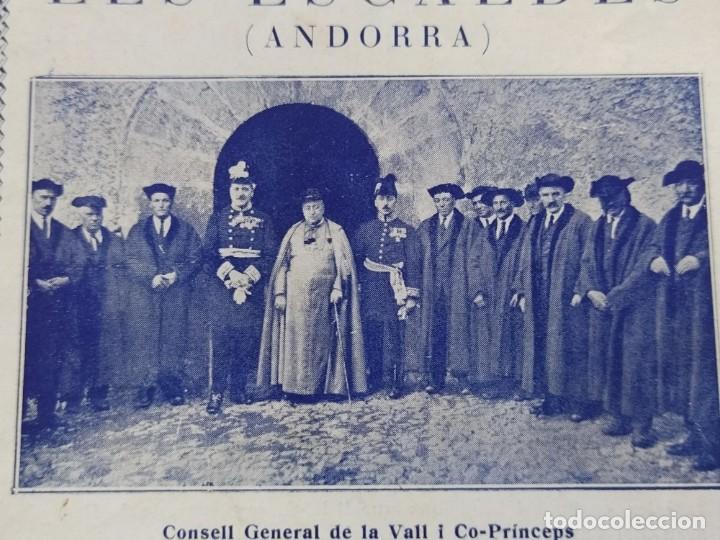 Catálogos publicitarios: ANDORRA-LES ESCALDES-HOTEL TERMAS-AÑO 1931-CATALOGO PUBLICIDAD CON FOTOGRAFIAS-VER FOTOS-(V-19.403) - Foto 2 - 196806328