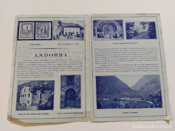 Catálogos publicitarios: ANDORRA-LES ESCALDES-HOTEL TERMAS-AÑO 1931-CATALOGO PUBLICIDAD CON FOTOGRAFIAS-VER FOTOS-(V-19.403) - Foto 7 - 196806328