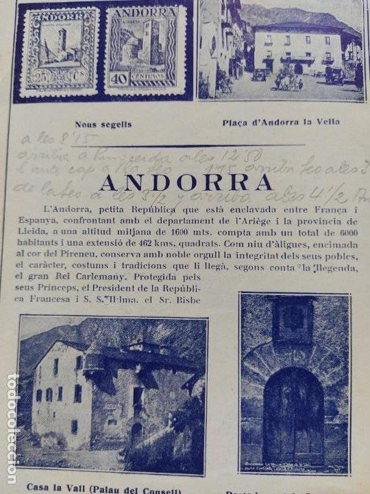Catálogos publicitarios: ANDORRA-LES ESCALDES-HOTEL TERMAS-AÑO 1931-CATALOGO PUBLICIDAD CON FOTOGRAFIAS-VER FOTOS-(V-19.403) - Foto 8 - 196806328