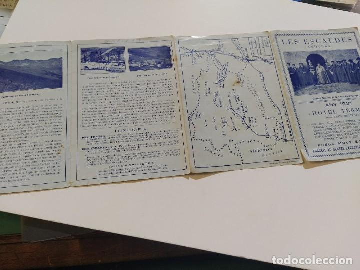 Catálogos publicitarios: ANDORRA-LES ESCALDES-HOTEL TERMAS-AÑO 1931-CATALOGO PUBLICIDAD CON FOTOGRAFIAS-VER FOTOS-(V-19.403) - Foto 15 - 196806328
