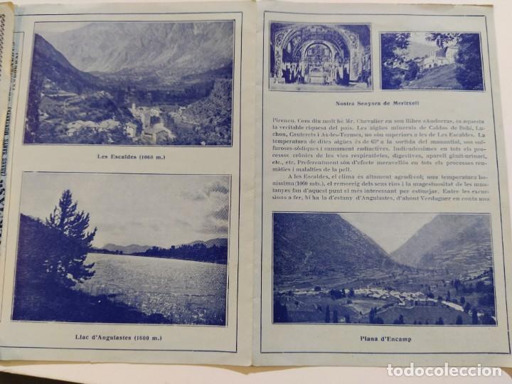 Catálogos publicitarios: ANDORRA-LES ESCALDES-HOTEL TERMAS-AÑO 1931-CATALOGO PUBLICIDAD CON FOTOGRAFIAS-VER FOTOS-(V-19.403) - Foto 14 - 196806328