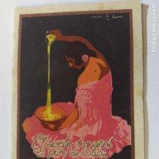 Catálogos publicitarios: ACEITE DE OLIVA-EXPOSICION INTERNACIONAL BARCELONA-CATALOGO PUBLICIDAD-VER FOTOS-(V-19.410). Lote 196908976