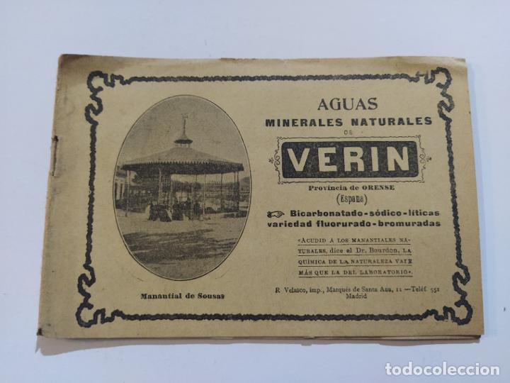 Catálogos publicitarios: AGUAS MINERALES NATURALES DE VERIN-MANANTIAL DE SOUSAS-CATALOGO PUBLICIDAD-VER FOTOS-(V-19.412) - Foto 8 - 196913298