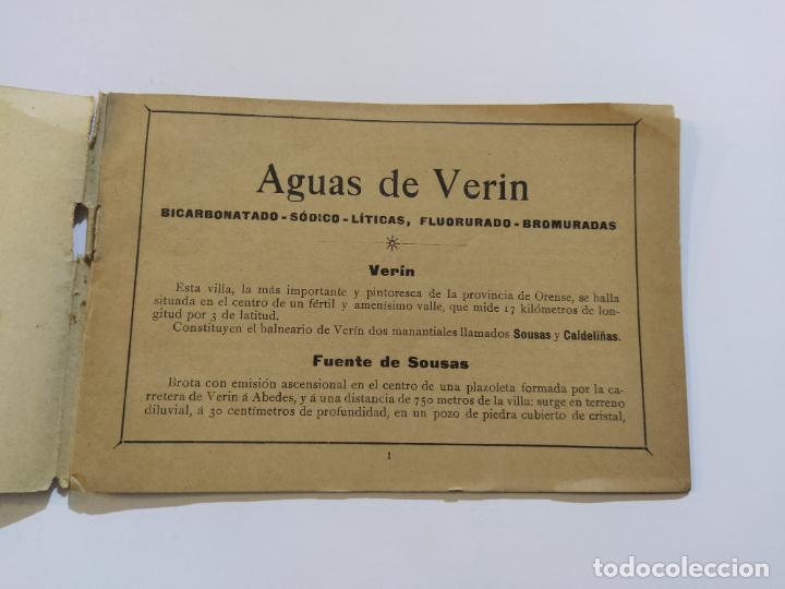 Catálogos publicitarios: AGUAS MINERALES NATURALES DE VERIN-MANANTIAL DE SOUSAS-CATALOGO PUBLICIDAD-VER FOTOS-(V-19.412) - Foto 10 - 196913298