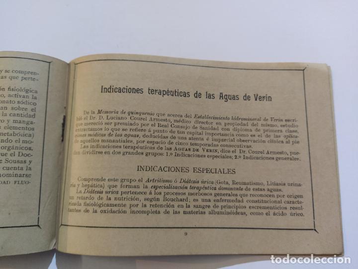 Catálogos publicitarios: AGUAS MINERALES NATURALES DE VERIN-MANANTIAL DE SOUSAS-CATALOGO PUBLICIDAD-VER FOTOS-(V-19.412) - Foto 13 - 196913298