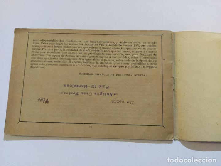 Catálogos publicitarios: AGUAS MINERALES NATURALES DE VERIN-MANANTIAL DE SOUSAS-CATALOGO PUBLICIDAD-VER FOTOS-(V-19.412) - Foto 14 - 196913298