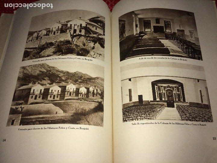 OPÚSCULO CENTENARIO DE HILATURAS DE FABRA Y COATS - AÑO 1944 - ESTADO IMPECABLE (Coleccionismo - Catálogos Publicitarios)