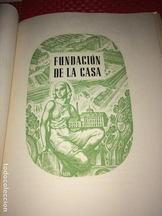 Catálogos publicitarios: OPÚSCULO CENTENARIO DE HILATURAS DE FABRA Y COATS - AÑO 1944 - ESTADO IMPECABLE - Foto 5 - 197142803