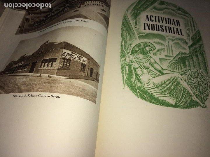 Catálogos publicitarios: OPÚSCULO CENTENARIO DE HILATURAS DE FABRA Y COATS - AÑO 1944 - ESTADO IMPECABLE - Foto 8 - 197142803