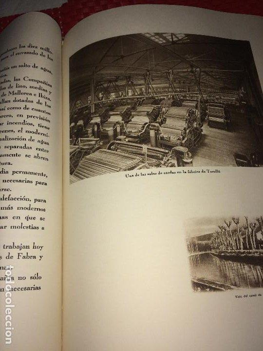 Catálogos publicitarios: OPÚSCULO CENTENARIO DE HILATURAS DE FABRA Y COATS - AÑO 1944 - ESTADO IMPECABLE - Foto 9 - 197142803