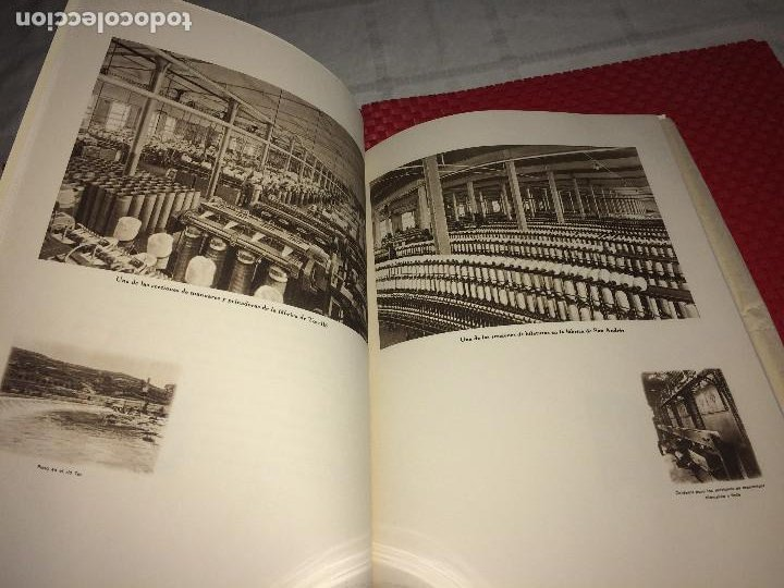 Catálogos publicitarios: OPÚSCULO CENTENARIO DE HILATURAS DE FABRA Y COATS - AÑO 1944 - ESTADO IMPECABLE - Foto 10 - 197142803