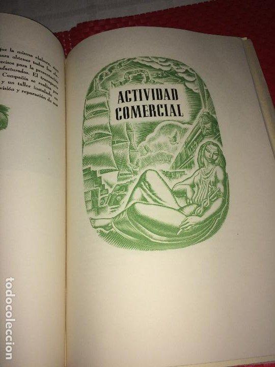 Catálogos publicitarios: OPÚSCULO CENTENARIO DE HILATURAS DE FABRA Y COATS - AÑO 1944 - ESTADO IMPECABLE - Foto 12 - 197142803