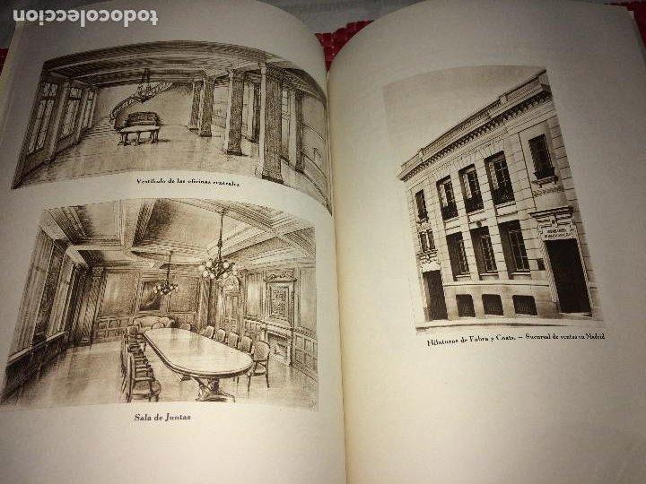 Catálogos publicitarios: OPÚSCULO CENTENARIO DE HILATURAS DE FABRA Y COATS - AÑO 1944 - ESTADO IMPECABLE - Foto 14 - 197142803