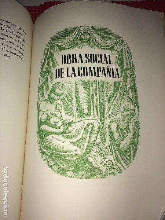Catálogos publicitarios: OPÚSCULO CENTENARIO DE HILATURAS DE FABRA Y COATS - AÑO 1944 - ESTADO IMPECABLE - Foto 15 - 197142803