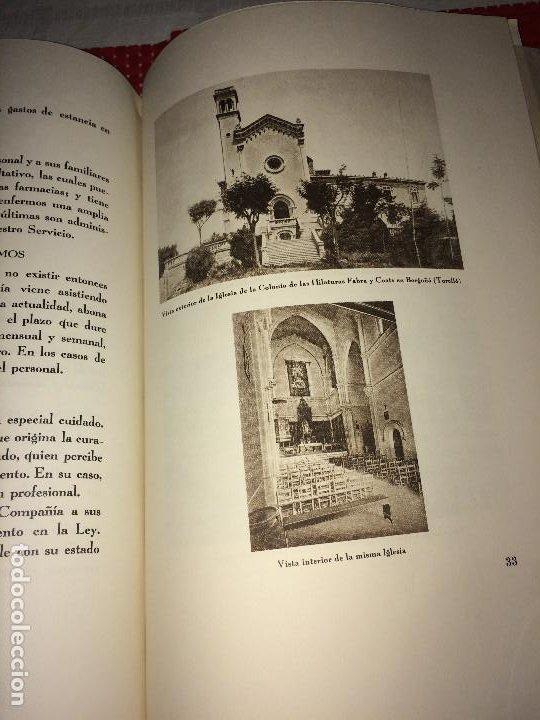 Catálogos publicitarios: OPÚSCULO CENTENARIO DE HILATURAS DE FABRA Y COATS - AÑO 1944 - ESTADO IMPECABLE - Foto 16 - 197142803