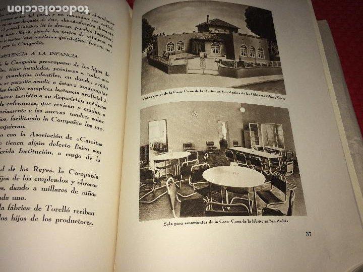 Catálogos publicitarios: OPÚSCULO CENTENARIO DE HILATURAS DE FABRA Y COATS - AÑO 1944 - ESTADO IMPECABLE - Foto 17 - 197142803