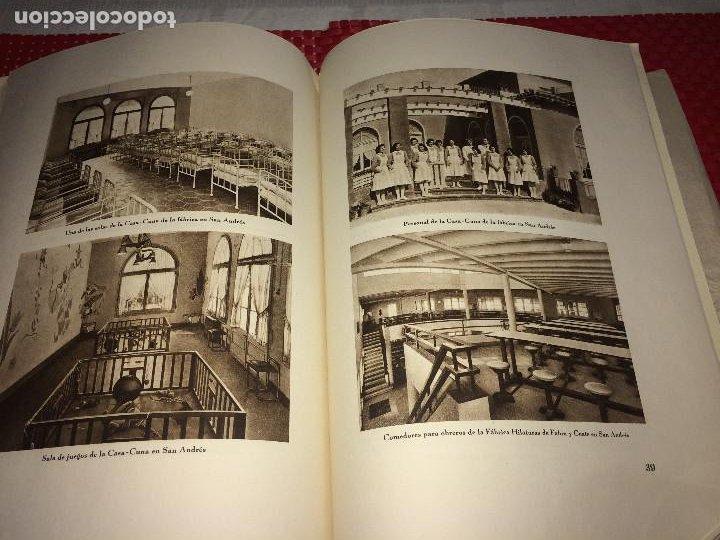 Catálogos publicitarios: OPÚSCULO CENTENARIO DE HILATURAS DE FABRA Y COATS - AÑO 1944 - ESTADO IMPECABLE - Foto 18 - 197142803