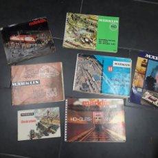 Catálogos publicitarios: 1674.- MARKLIN - 7 CATALOGOS. Lote 198688082