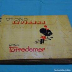 Catálogos publicitarios: CATÁLOGO LANAS TORREDEMER.OTOÑO-INVIERNO 1974-1975.. Lote 198709241