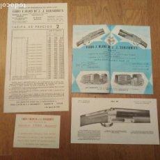 Catálogos publicitarios: CATÁLOGO Y PUBLICIDAD VIUDA E. HIJOS DE J J SARASQUETA. Lote 198772768