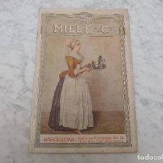 Catálogos publicitarios: CATÁLOGO DE ORFEBRERÍA PLATEADA MIELE & CO. AÑO 1911. Lote 198841535
