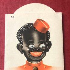 Catálogos publicitários: PUBLICIDAD. ANTIGUA PUBLICIDAD MÓVIL, DEL RESTAURANTE SA GABARRA. A 1800 METROS DE TOSSA.. Lote 199042422
