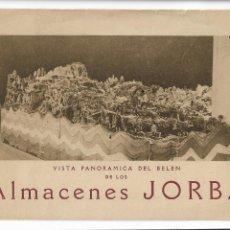 Catálogos publicitarios: ALMACENES JORBA - MANRESA / BARCELONA - VISTA DEL BELÉN - 1927 - DÍPTICO 15,6 X 11 CM. - P30693. Lote 199479760