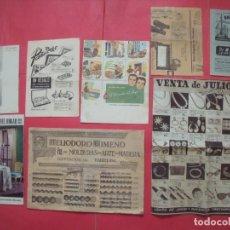 Catálogos publicitários: CATALOGOS.-EL CORTE INGLES.-SHERWIN-WILLIAMS.-NAVE.-GALERIAS PRECIADOS.-HELIODORO GIMENO.-PUBLICIDAD. Lote 199847125