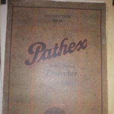 Catálogos publicitarios: CATALOGO DE PROYECTORES PATHEX. Lote 200118386