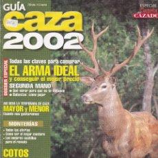 Catálogos publicitarios: GUIA DE CAZA EDITADA POR LA GAZETA DEL CAZADOR. Lote 200799230