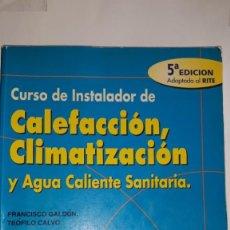 Catálogos publicitarios: MANUAL TÉCNICO CURSO INSTALADOR CALEFACCIÓN CLIMATIZACIÓN ACS CONAIF SAUNIER DUVAL CALOR FRIO BOMBAS. Lote 201779813