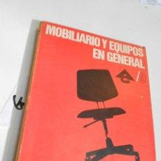 Catálogos publicitarios: ANTIGUO CATALOGO DE MOBILIARIO Y EQUIPOS EN GENERAL CON MUCHAS FOTOS, INDICACIONES Y PRECIOS. Lote 201916020