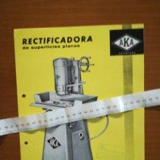Catálogos publicitarios: DIPTICO PUBLICIDAD AKA VITORIA. Lote 202029321