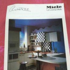 Catálogos publicitarios: CATALOGO MIELE AMBIENTE M.C. SEVILLA 1993. Lote 203199010