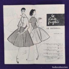 Catálogos publicitarios: CATALOGO PUBLICITARIO DE EL CORTE INGLES. MARZO - ABRIL. PRECIADOS, 3 - MADRID. AÑO 1958.. Lote 204002906
