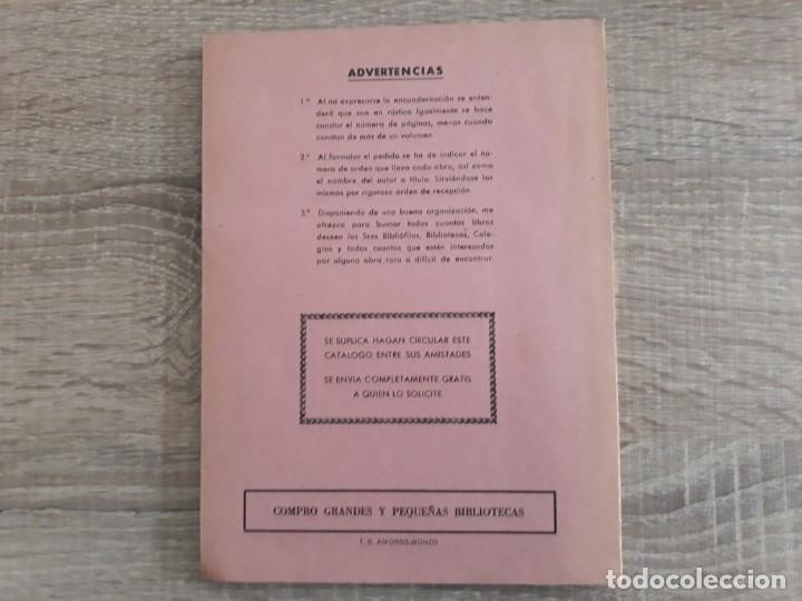 Catálogos publicitarios: CATALOGO LIBRERIAS CERVANTES Y CANUDA .1968 .125 páginas. - Foto 2 - 204179908
