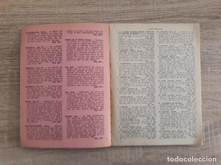 Catálogos publicitarios: CATALOGO LIBRERIAS CERVANTES Y CANUDA .1968 .125 páginas. - Foto 3 - 204179908