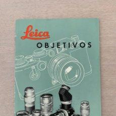 Catálogos publicitarios: FOLLETO DE CÁMARA FOTOGRÁFICA LEICA III G, 1957. Lote 204648922