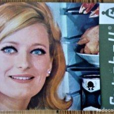 Catálogos publicitarios: FOLLETO PUBLICITARIO EUROBELL FRIGORÍFICO PRECIOSO VER IMÁGENES 1966 RARO. Lote 205128531