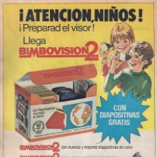 Catálogos publicitarios: BIMBOVSION 2 - BIMBO. Lote 205525766