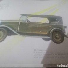 Catálogos publicitarios: LOTE DE 13 CATALOGOS FIAT 1929. Lote 205599552