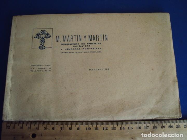 (CAT-200503)CATALOGO DE LAMPARAS M.MARTIN Y MARTIN (BARCELONA) (Coleccionismo - Catálogos Publicitarios)