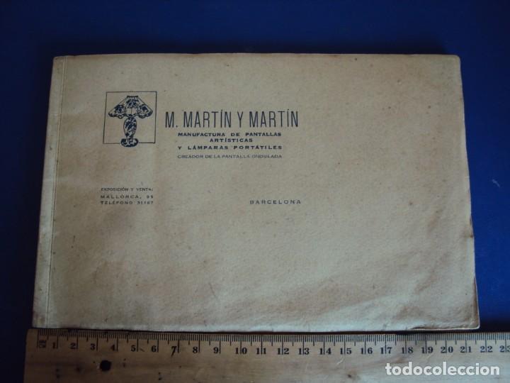 Catálogos publicitarios: (CAT-200503)CATALOGO DE LAMPARAS M.MARTIN Y MARTIN (BARCELONA) - Foto 2 - 205819766