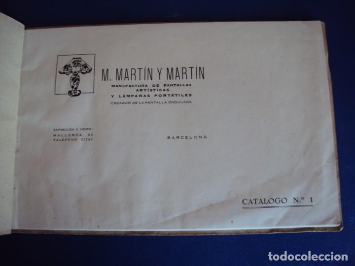 Catálogos publicitarios: (CAT-200503)CATALOGO DE LAMPARAS M.MARTIN Y MARTIN (BARCELONA) - Foto 3 - 205819766