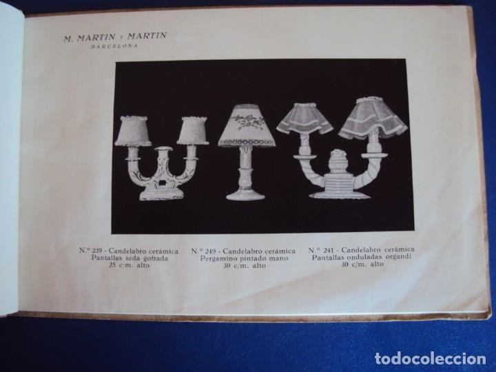 Catálogos publicitarios: (CAT-200503)CATALOGO DE LAMPARAS M.MARTIN Y MARTIN (BARCELONA) - Foto 4 - 205819766
