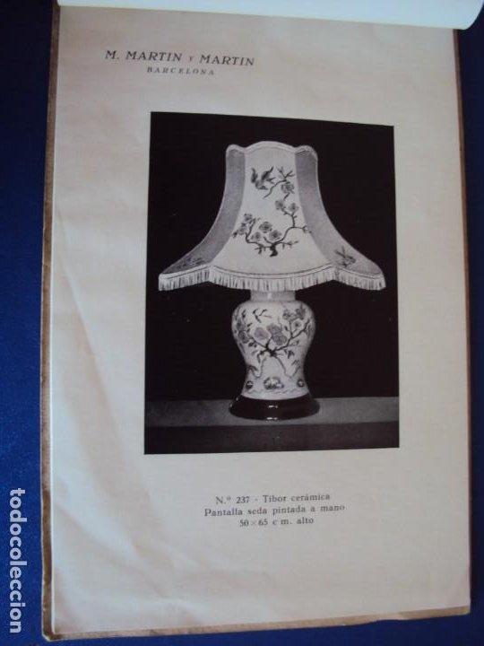 Catálogos publicitarios: (CAT-200503)CATALOGO DE LAMPARAS M.MARTIN Y MARTIN (BARCELONA) - Foto 5 - 205819766
